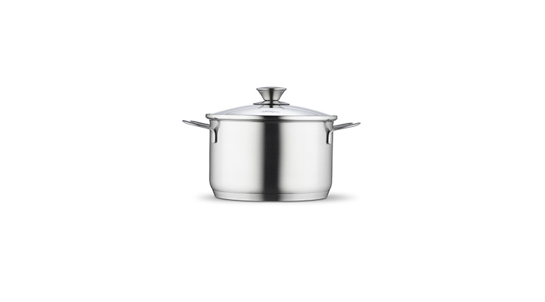 High casserole 20 cm with lid