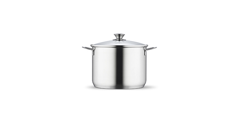 High casserole 24 cm with lid