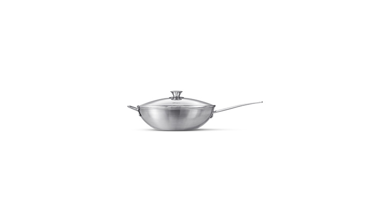 Wok 30 cm with Lid