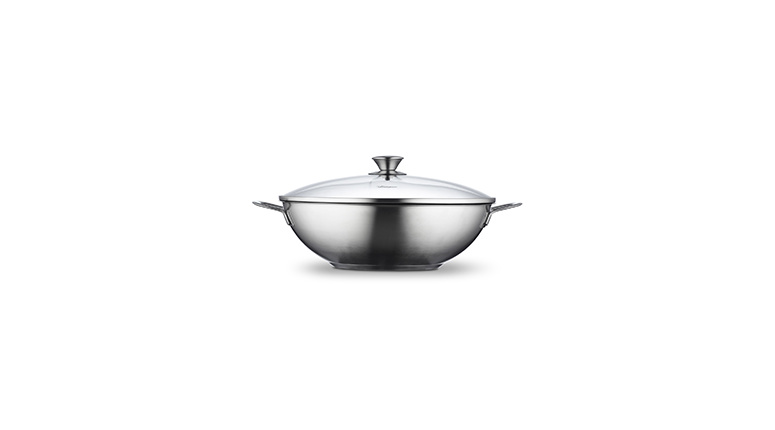 Wok 32 cm with lid